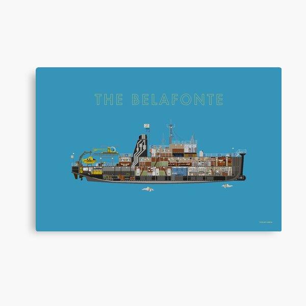 Le Belafonte - La vie aquatique Impression sur toile