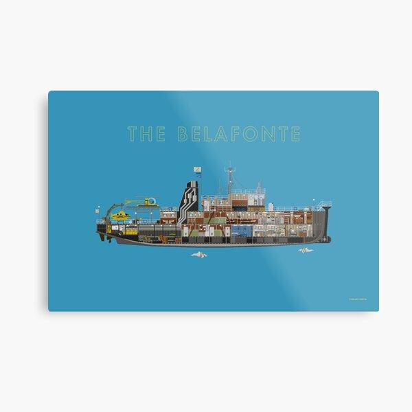 The Belafonte - The Life Aquatic Metal Print