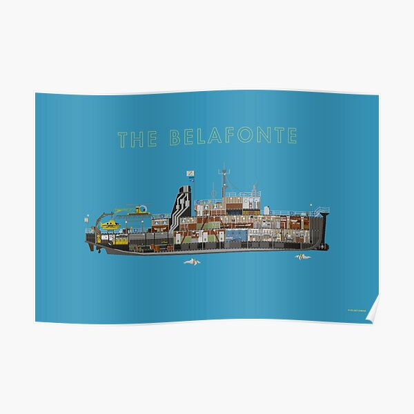 The Belafonte - The Life Aquatic Poster