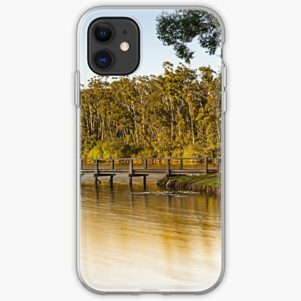Lake Daylesford, Vic iPhone Soft Case