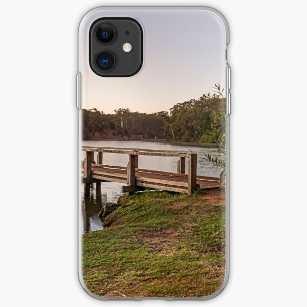 First Light Lake Daylesford iPhone Soft Case