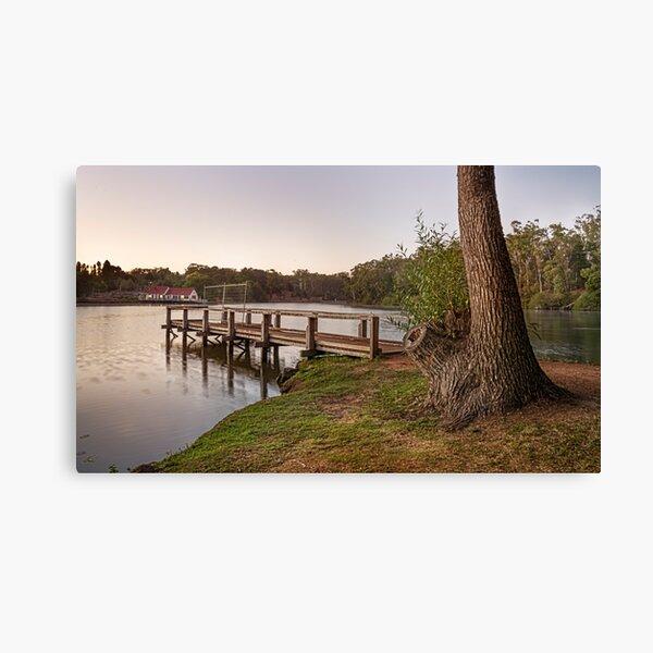 First Light Lake Daylesford Canvas Print
