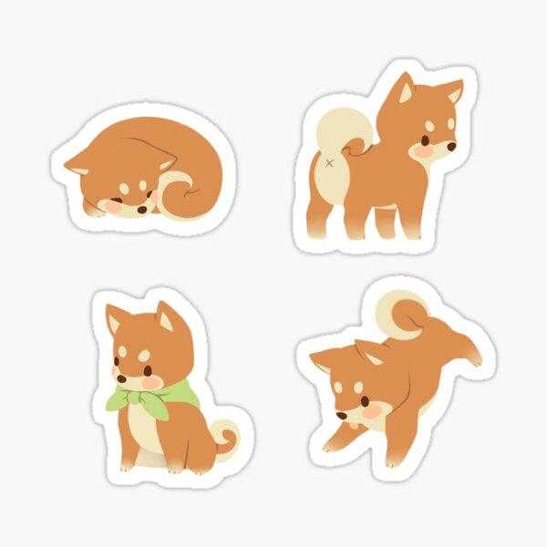 Shibas minuscules Sticker