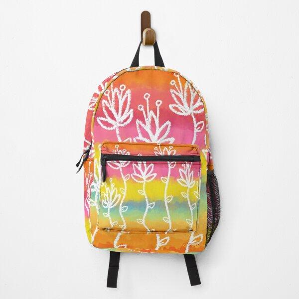 Tropical Flower Sunrise! Backpack