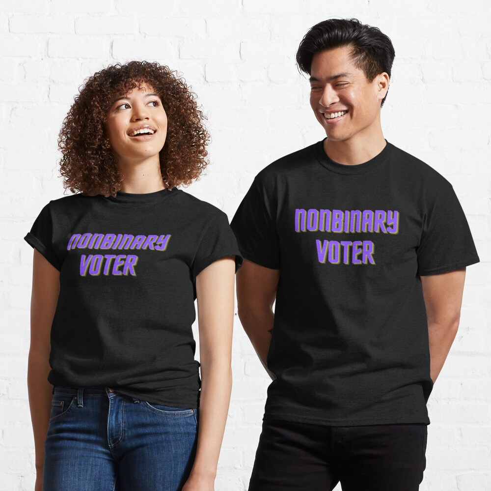 Nonbinary Voter Classic T-Shirt