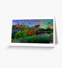 For I Know The Plans I Have For You Greeting Card