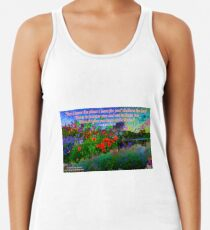 For I Know The Plans I Have For You Racerback Tank Top