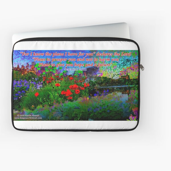 For I Know The Plans I Have For You Laptop Sleeve