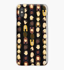 The Office Heads - Black Background iPhone Case