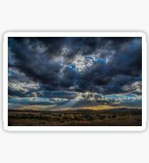 Thunderstorm Rays  Sticker