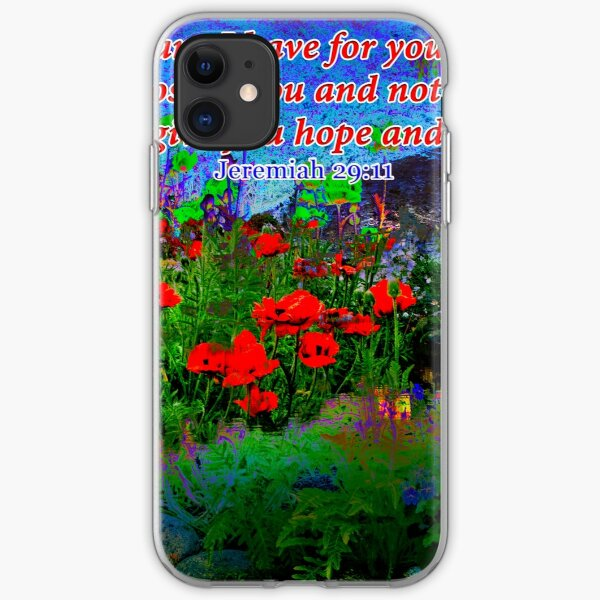 For I Know The Plans I Have For You iPhone Soft Case