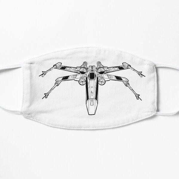 X Wing Starfighter Flat Mask