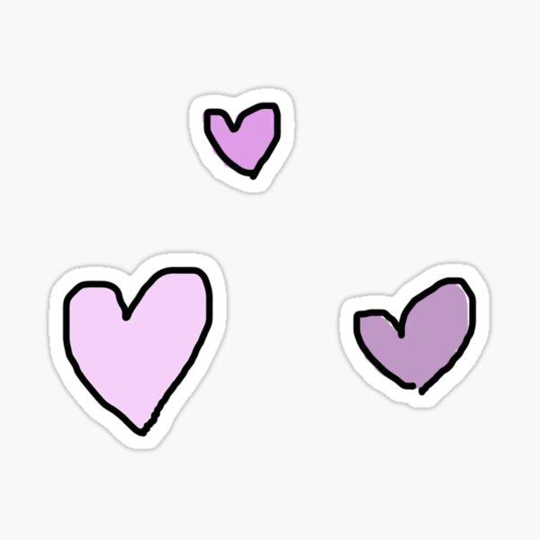 kleine Herzen Sticker