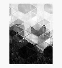 Forest Geometric Print Photographic Print