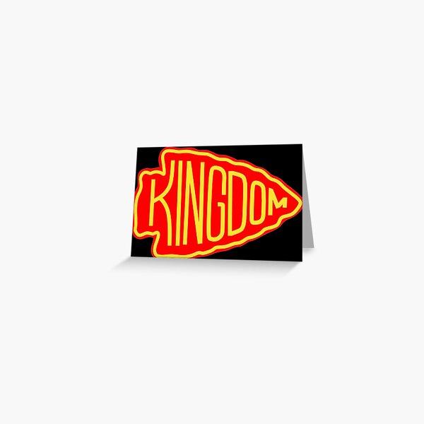 Kansas City Red Kingdom Greeting Card