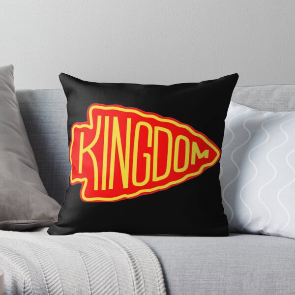 Kansas City Red Kingdom Throw Pillow
