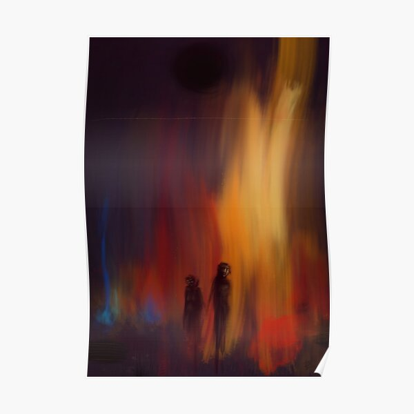 Fire (walk with me) Poster
