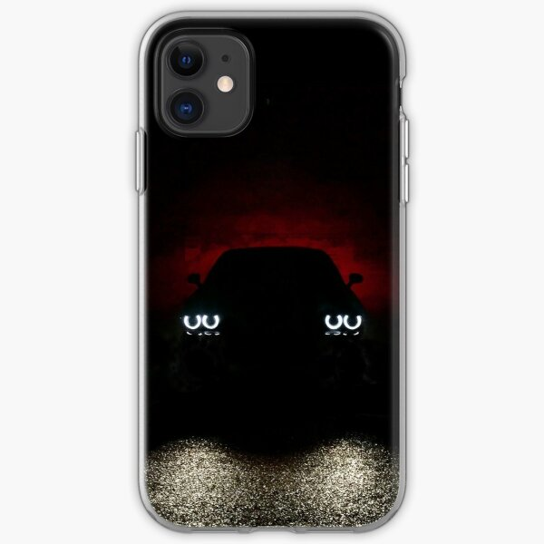 Dodge Challenger Silhouette  iPhone Soft Case
