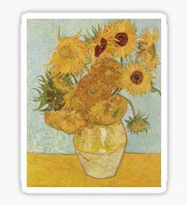 Vincent van Gogh's Sunflowers Sticker