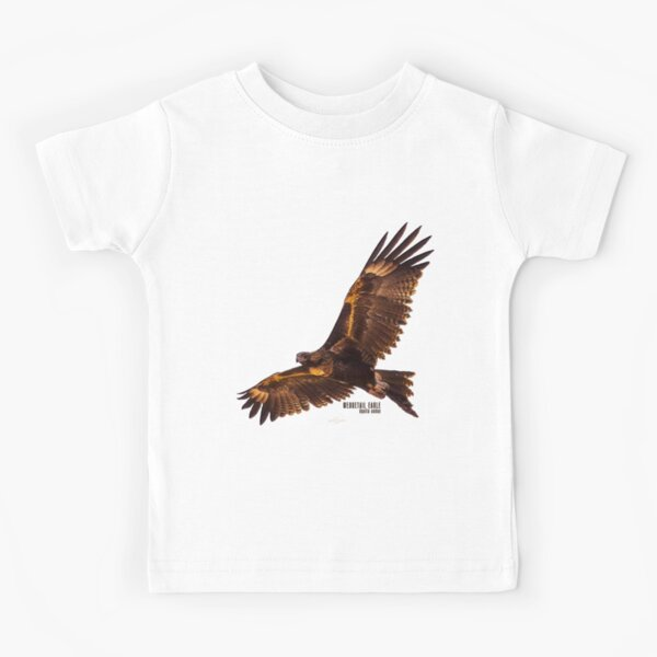 Wedgetail Eagle_03C Kids T-Shirt
