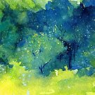 Trees Series - Trees in the Orchard  2  by Heatherian