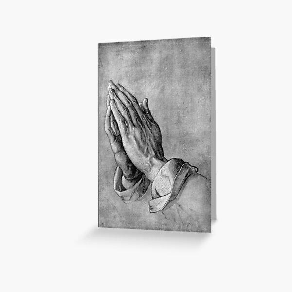 Praying Hands - Albrecht Durer Classic Famous Art Greeting Card