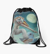 The Budgie-Shaman Drawstring Bag