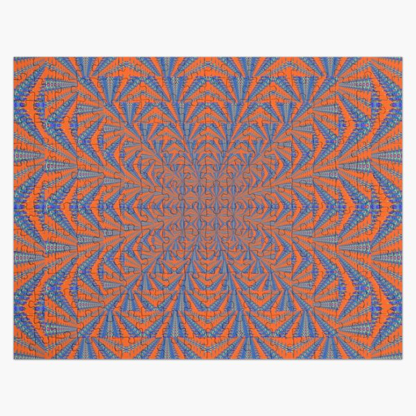 Motif, Visual arts, Psychedelic Jigsaw Puzzle