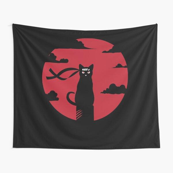 Ninja cat redmoon massacre Tapestry