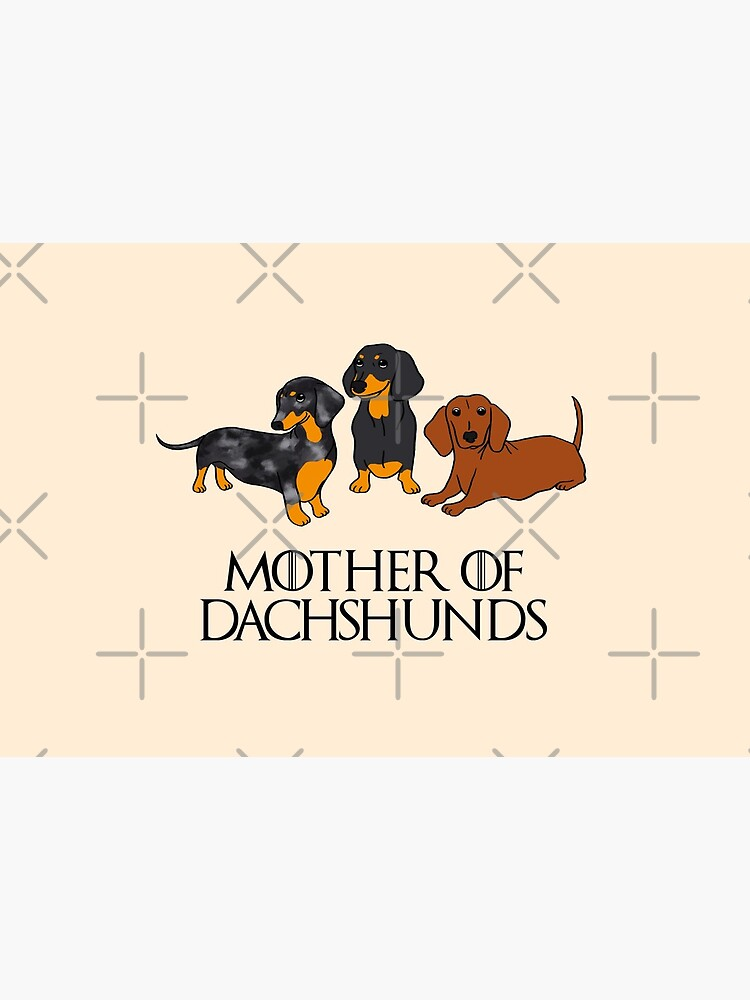 Mother of Dachshunds by Reiyankhairina