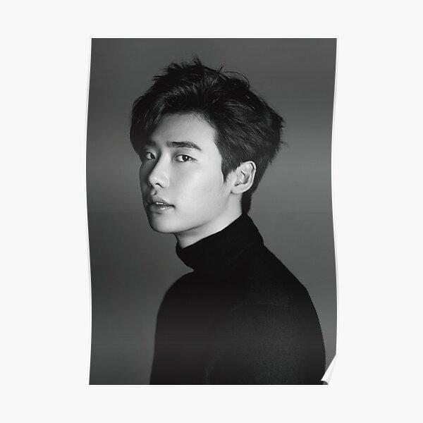 Lee Jong Suk Vintage Poster