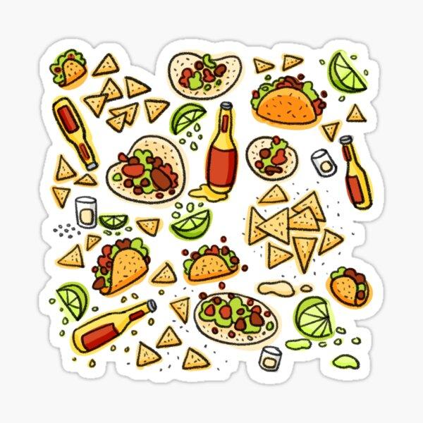 Tex Mex Sticker