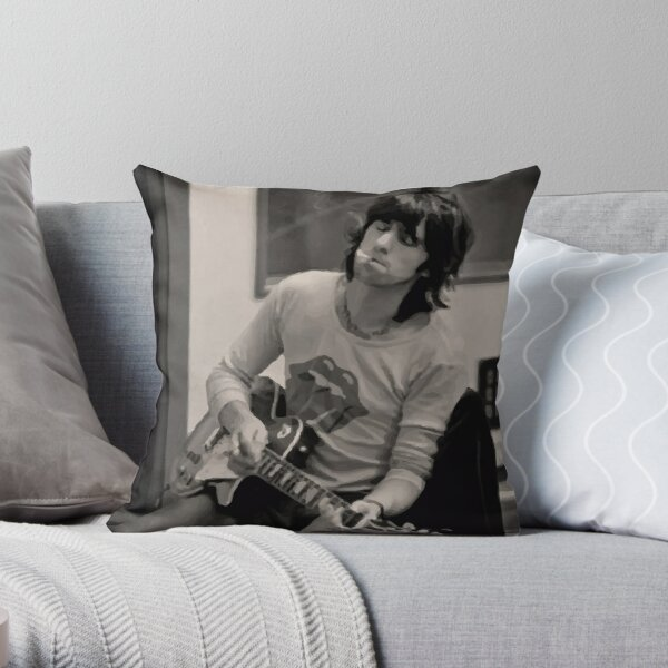 Keef Jamming Out Throw Pillow