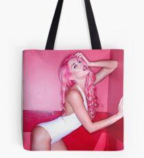 Nicole Pink Walls Tote Bag