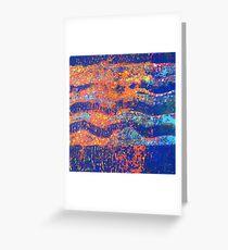 Ocean Waves 3 - Sunset  Greeting Card