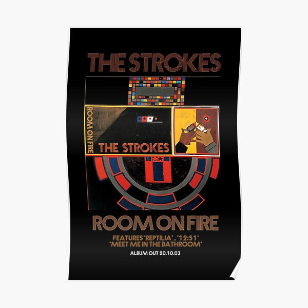 the room on fire Poster