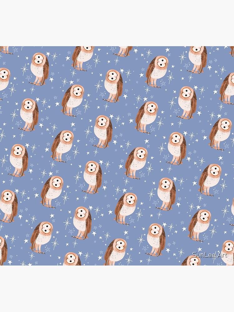 Barn Owl by sunleeart