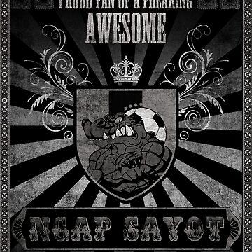 Ngap Sayot (Brutally Eaten) by metalcharisma