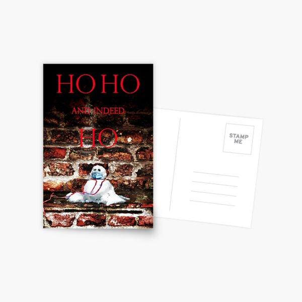 HO HO HO? Christmas 2021 Postcard