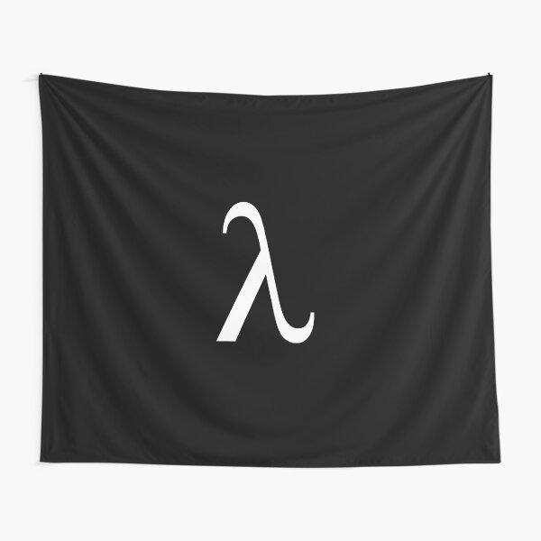 Lambda Symbol, #Lambda, #Symbol, #LambdaSymbol Tapestry