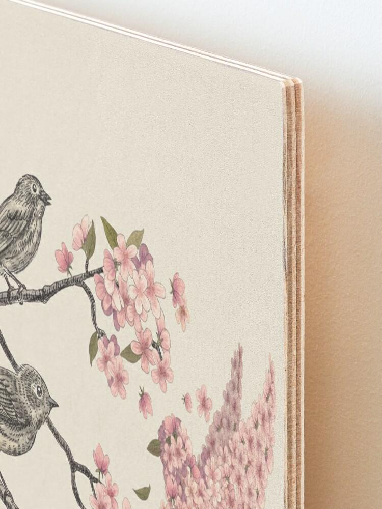 Alternate view of Blossom Bird  Mounted Print