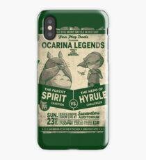 Totoro Zelda iPhone Case/Skin