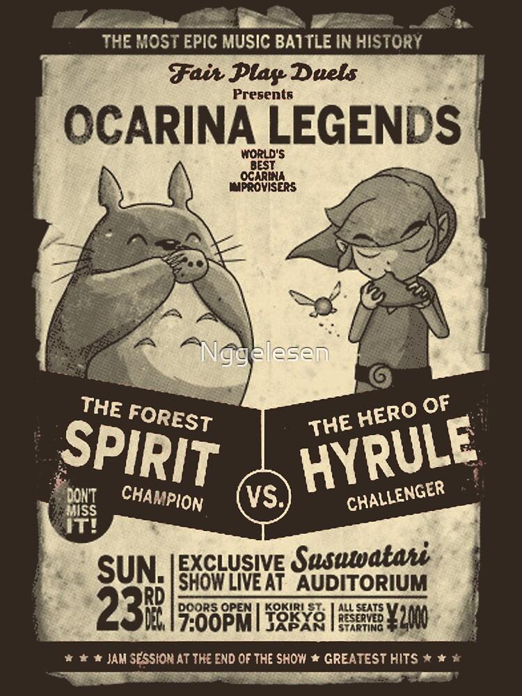 Totoro Zelda | Unisex T-Shirt