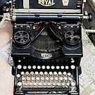 Old style Royal typewriter with ribbon  by PhotoStock-Isra