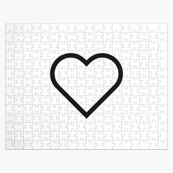 Smiley Heart, Emoji Jigsaw Puzzle