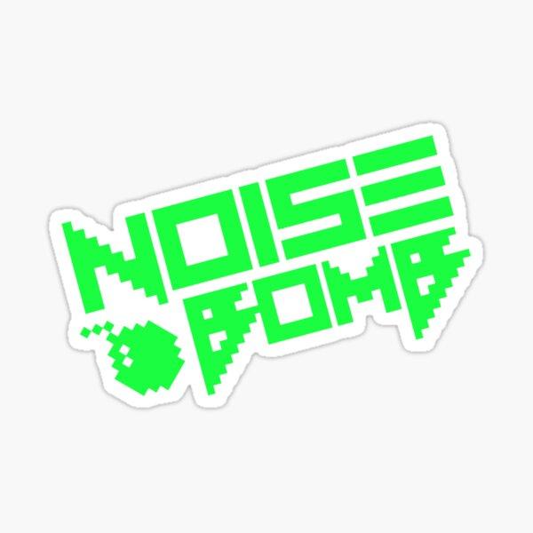Bomba de ruido Pegatina