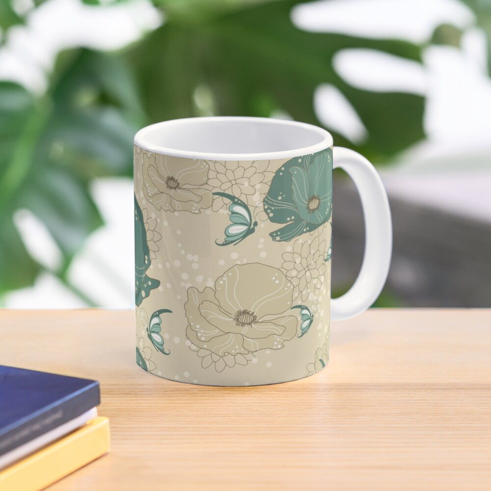 Print with refinement on Mug