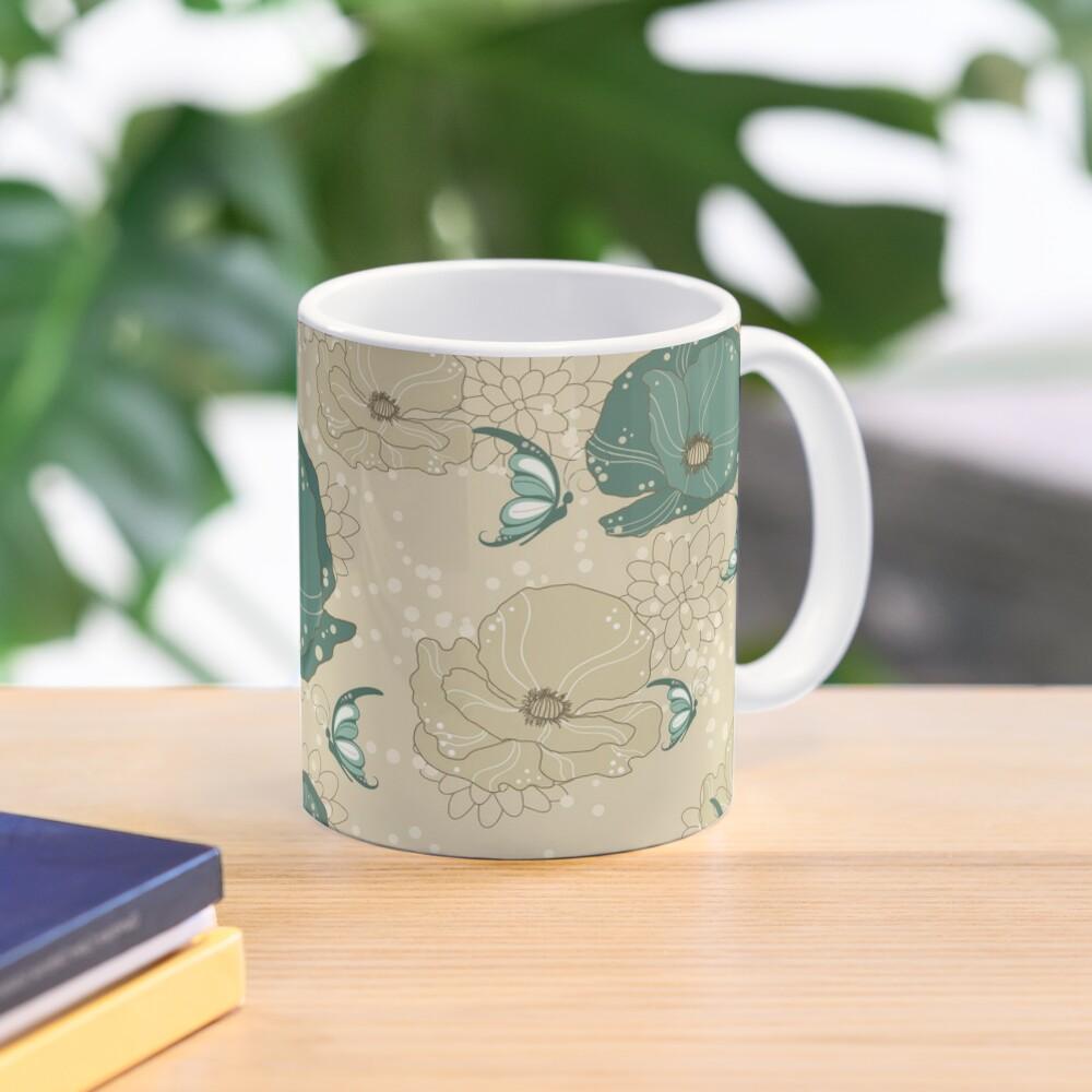 Print with refinement on Mug