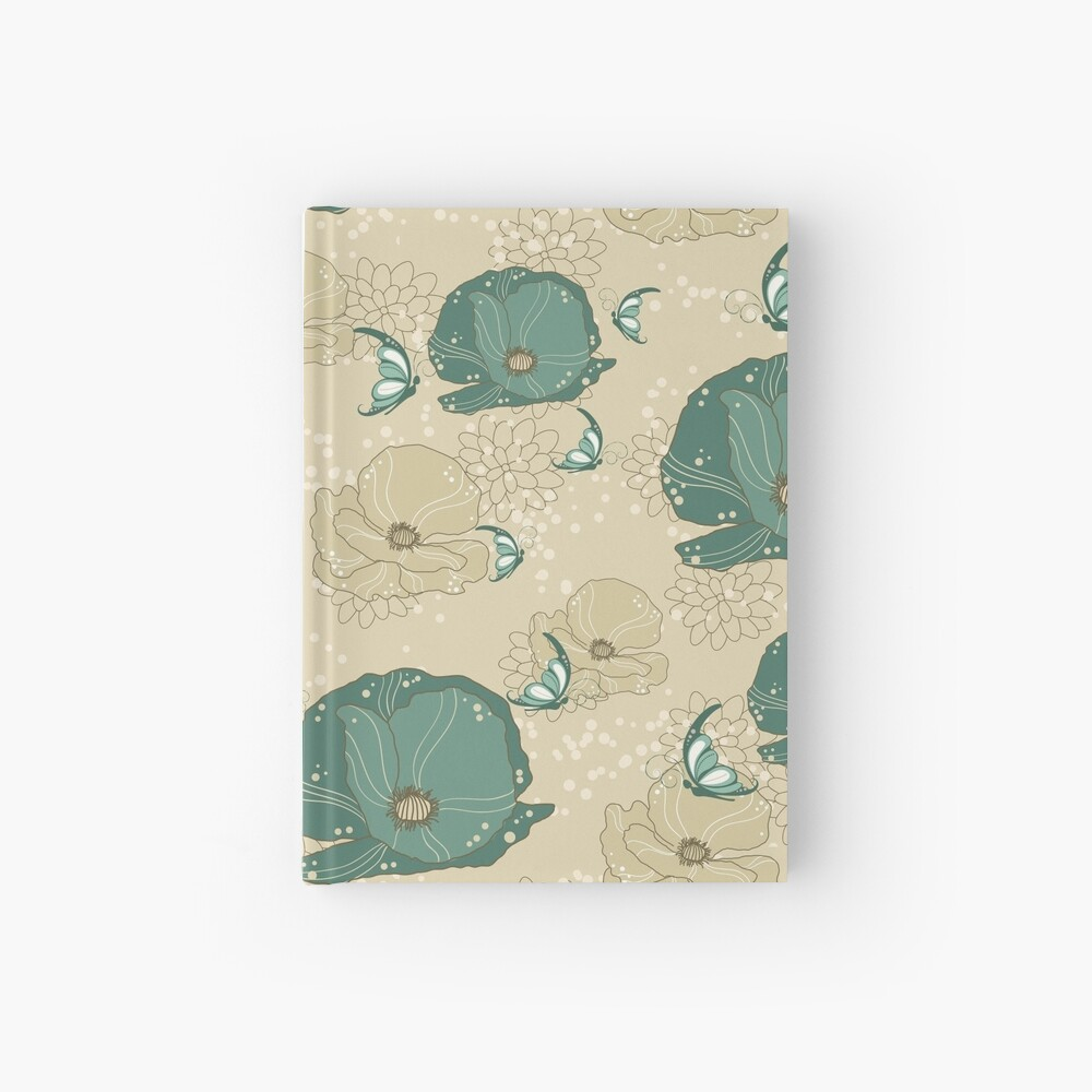 Print with refinement Hardcover Journal