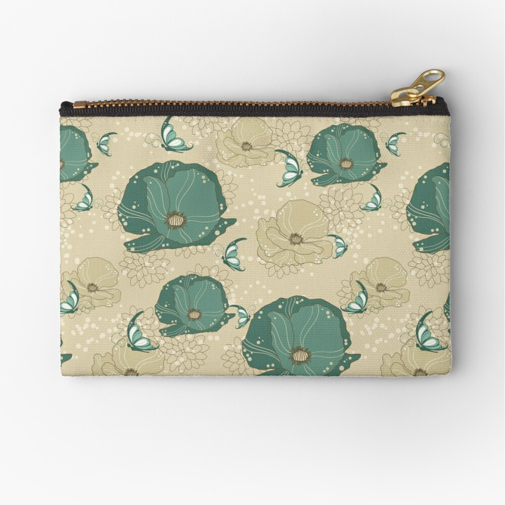 Print with refinement Zipper Pouch